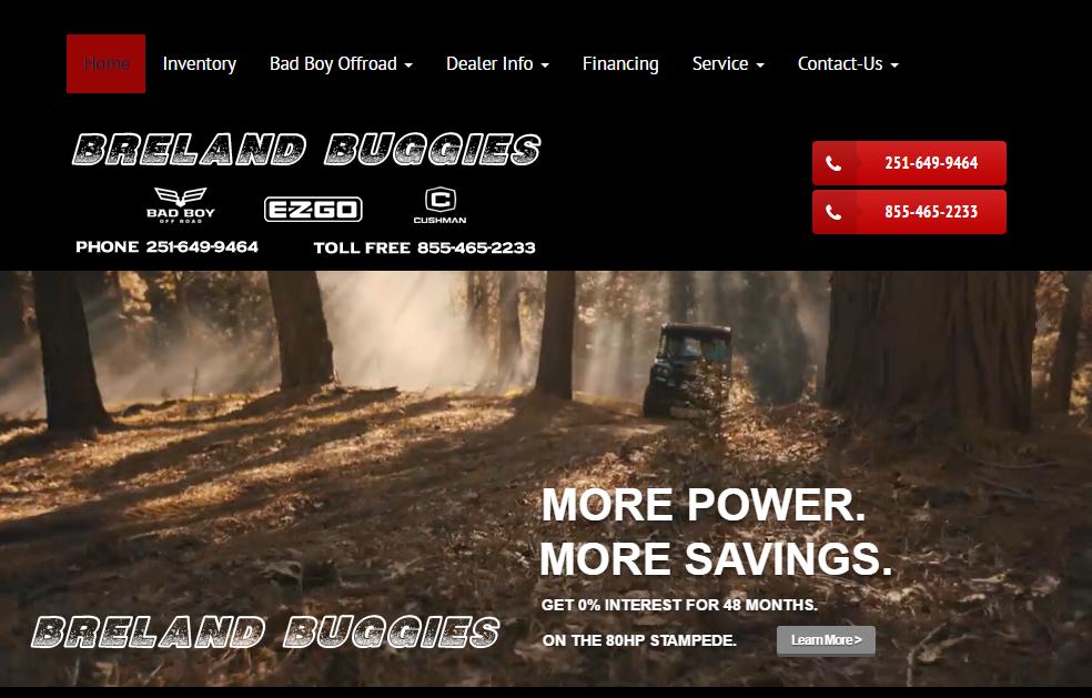 Breland machinery premier dealer of pre owned heavy for Breland homes website